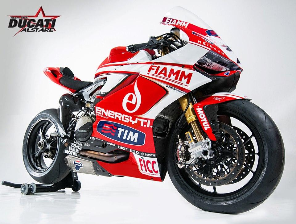 Team Ducati Alstare - 1199 Panigale R