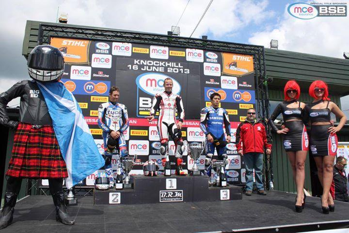 il podio di Knockhill