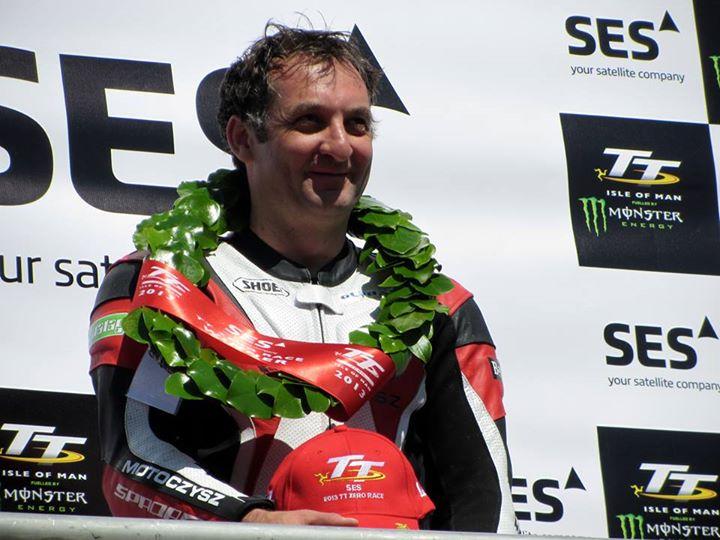 Michael Rutter vincitore della TT Zero race