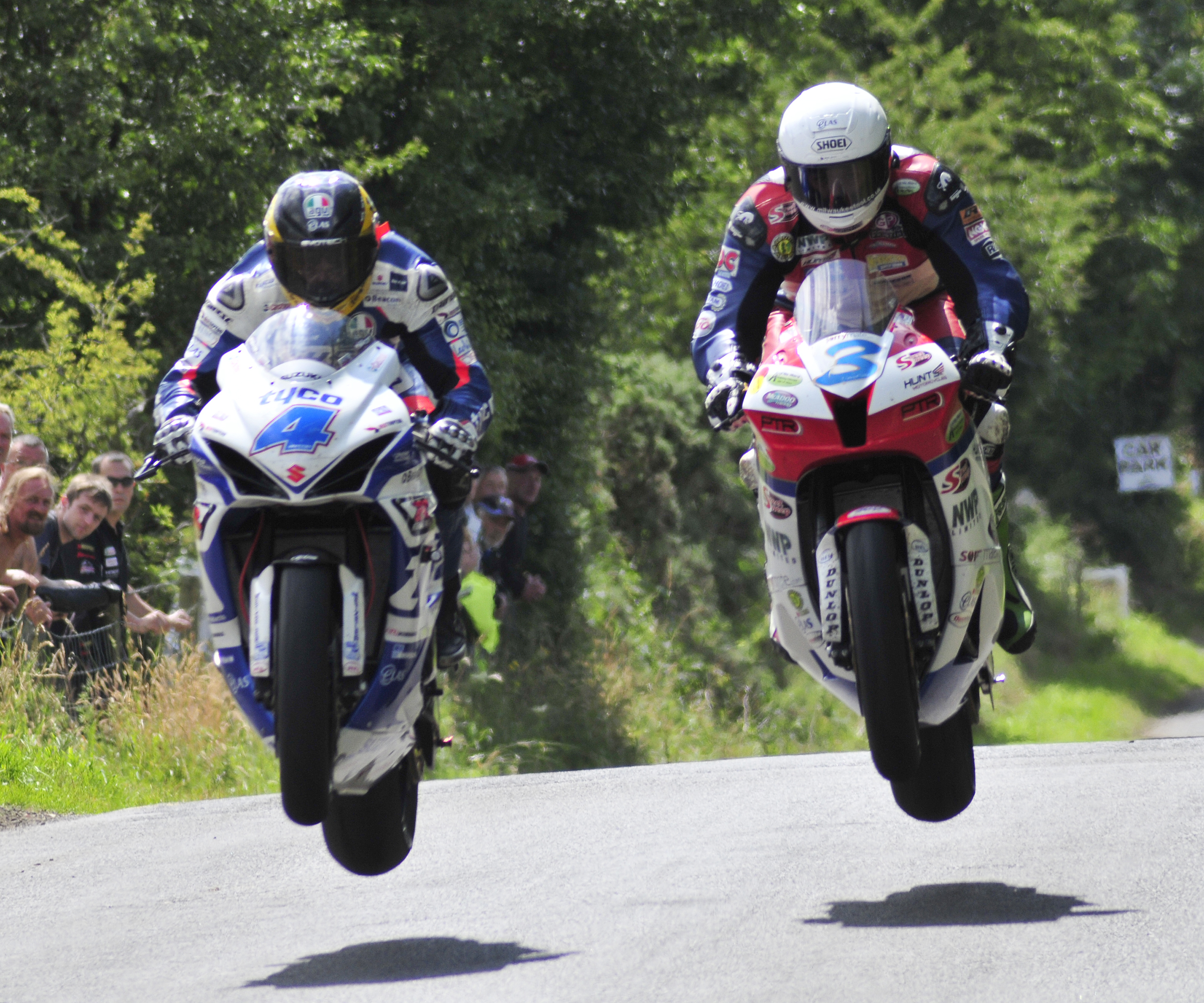 001 Guy Martin and Michael Dunlop