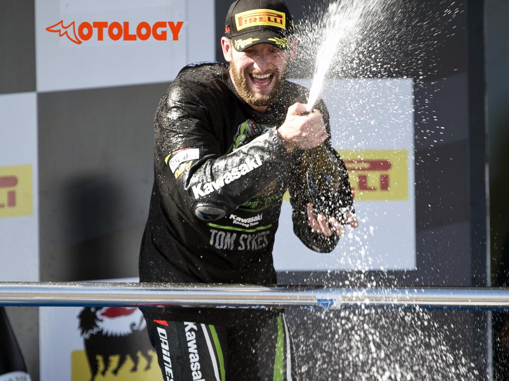 Tom Sykes world champion superbike in Jerez