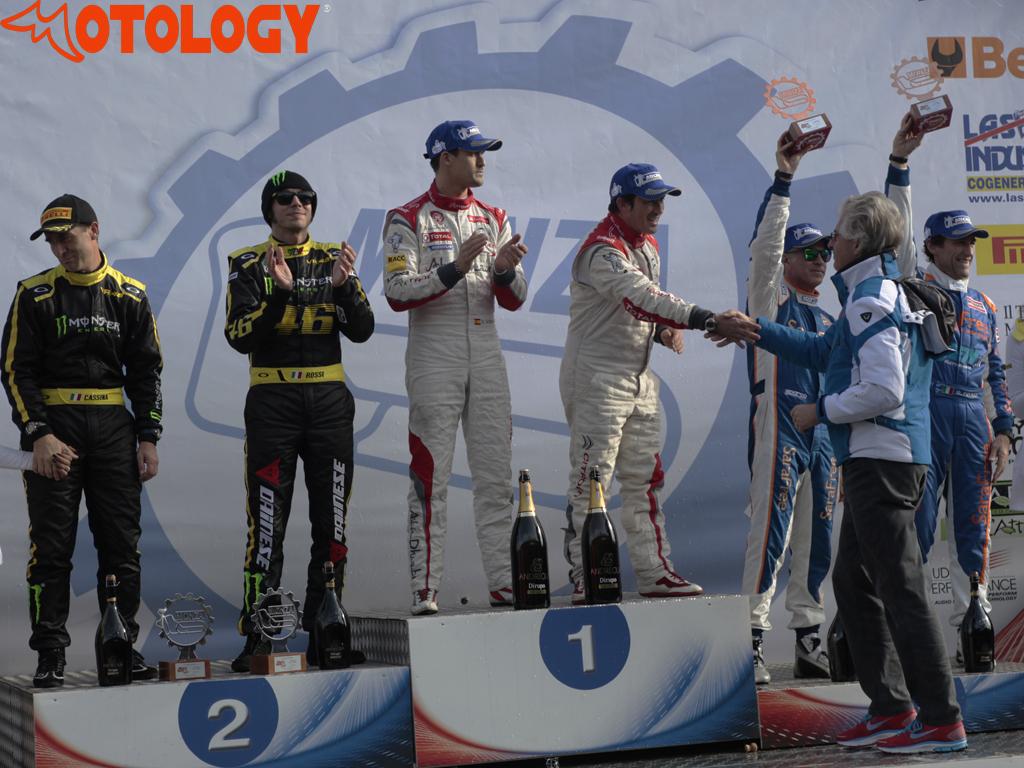 Monza Rally Show 2013: il podio