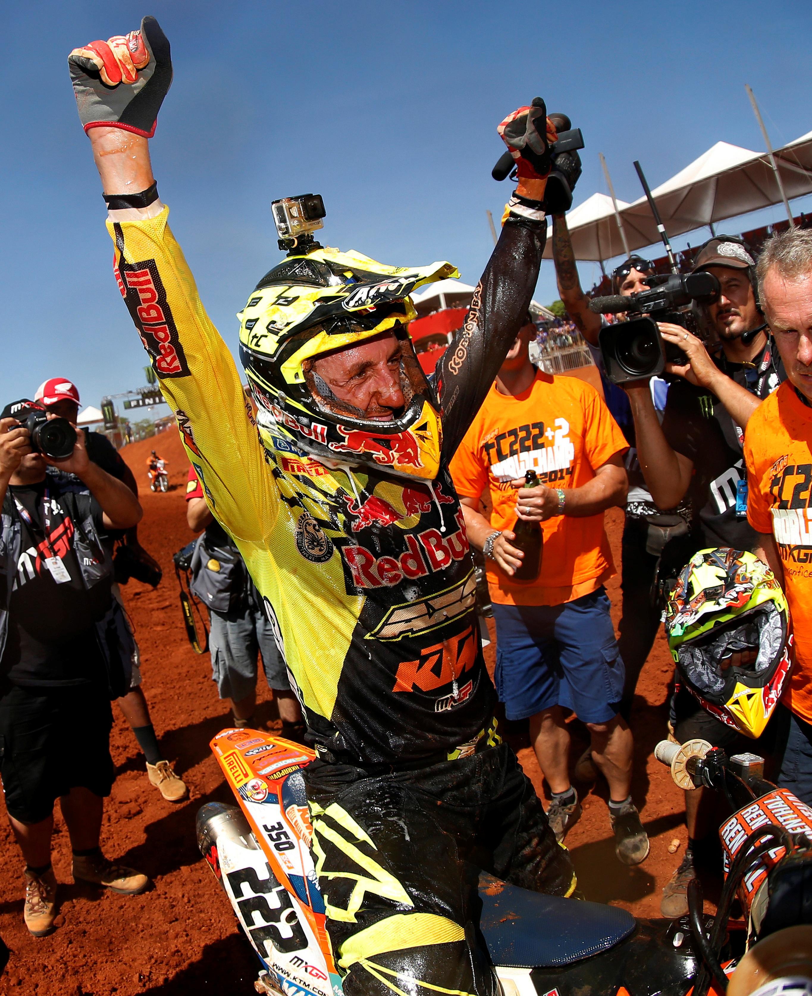 Antonio Cairoli Campione del mondo MXGP 2014 - 4