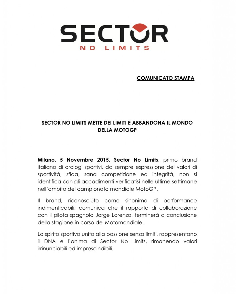 CS_Sector_No_Limits_Abbandona_Mondo_MotoGP_5-11-2015