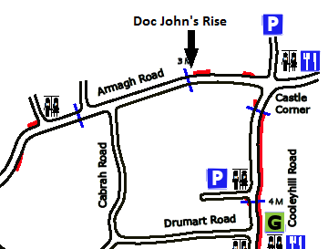 Doc Johns Rise Cropped Map