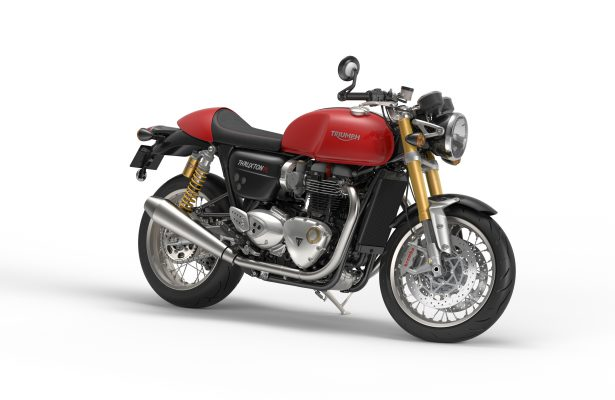 Thruxton R_jet_black_diablo_red_Front_quarter