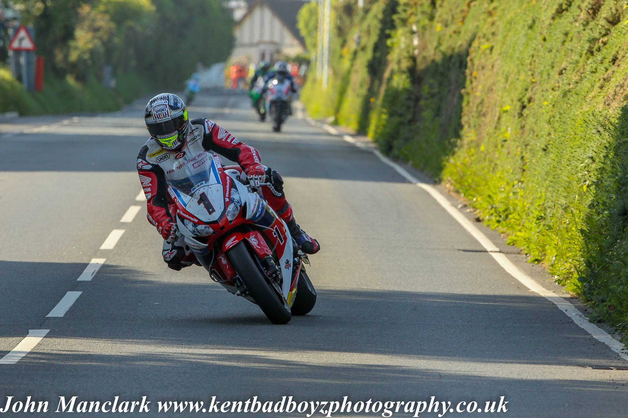 John McGuinness-RST Superbike Race