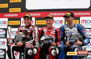 Knockhill Stock1000-podium