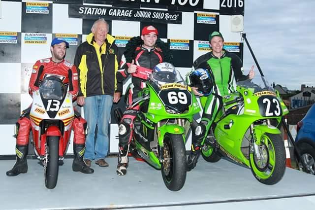 Darrel Twed Southern100 podio