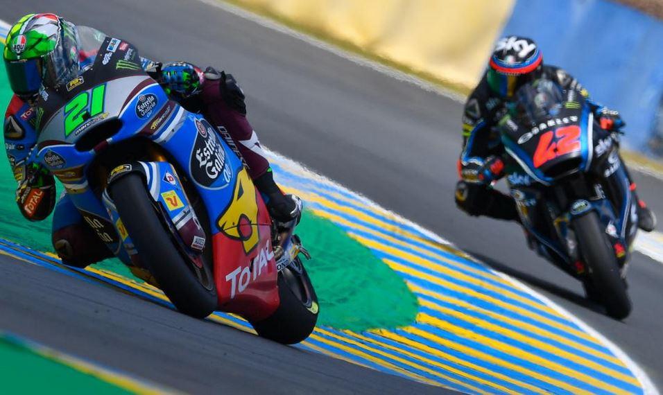 Moto2, doppietta italiana a Le Mans