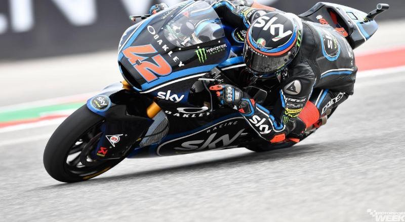 Moto2 USA, day1: Oliveira e KTM al top